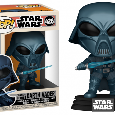 Star wars bobble head pop n 426 sw concept alternate vader
