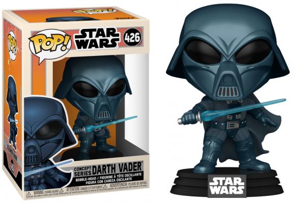 Star wars bobble head pop n 426 sw concept alternate vader