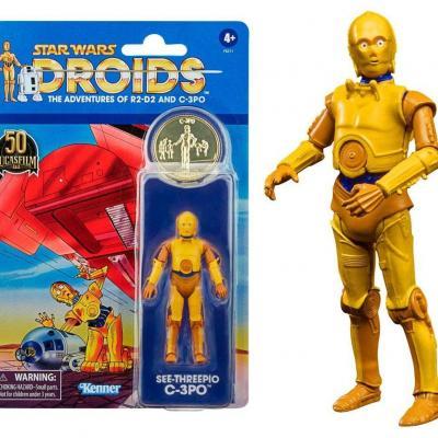 Star wars c 3po figurine vintage collection 10cm