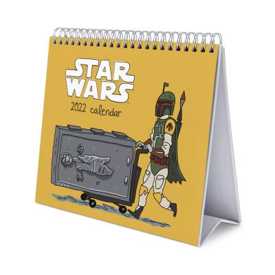 Star wars calendrier de bureau 2022 17x20cm