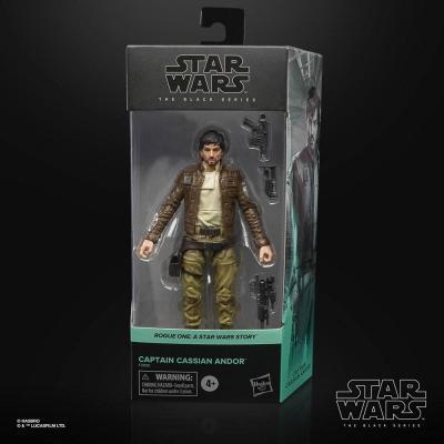 Star wars captain cassian andor rogue one figurine black series