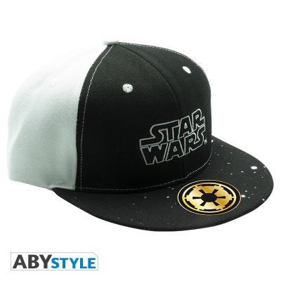 Star wars casquette snapback noir blanc