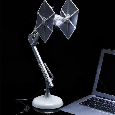 Star wars chasseur tie lampe positionable