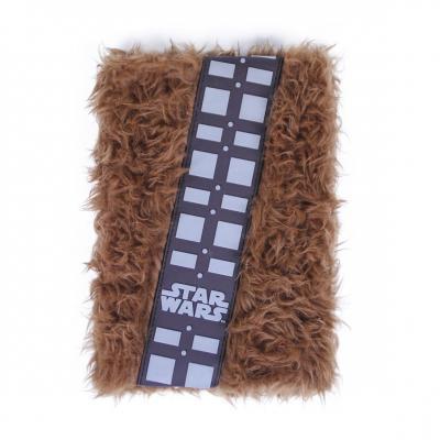 Star wars chewbacca furr notebook a5