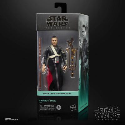 Star wars chirrut imwe rogue one figurine black series