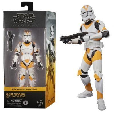 Star wars clone trooper 212th figurine black series 15cm