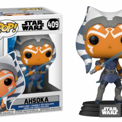 Star wars clone wars bobble head pop n 409 ahsoka