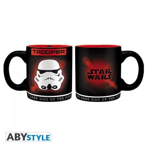 Star wars coffret verre porte cles mini mug trooper 1