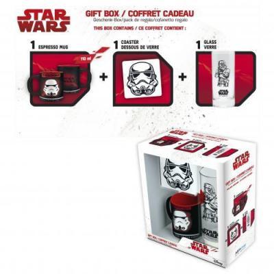 Star wars coffret verre porte cles mini mug trooper 4