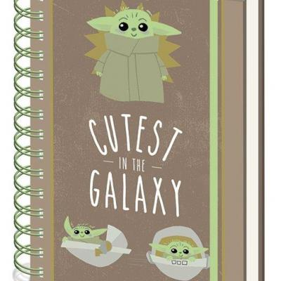 Star wars cutest in the galaxy notebook a5