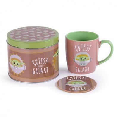 Star wars cutsest in the galaxy box metal mug sous verre