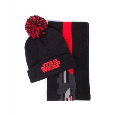 Star wars darth vader bonnet echarpe