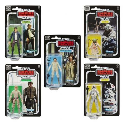 Star wars empire strikes back 40 th ann black series fig ass 5 pc