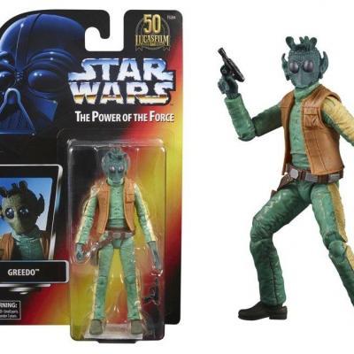 Star wars greedo figurine power of the force 15cm