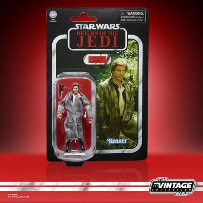 Star wars han solo endor figurine vintage collection 10cm