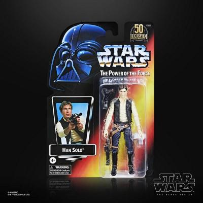 Star wars han solo figurine power of the force 15cm