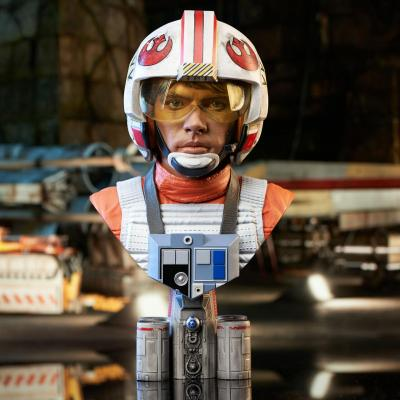 Star wars iv pilot luke skywalker buste 3d 25cm
