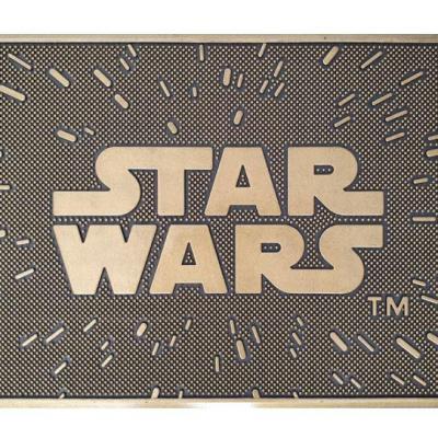Star wars logo paillasson caoutchouc 40x60cm