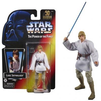 Star wars luke skywalker figurine power of the force 15cm
