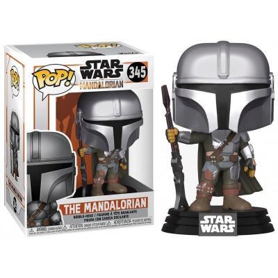 Star wars mandalorian bobble head pop n 345 the mandalorian