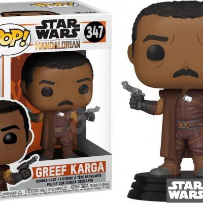 Star wars mandalorian bobble head pop n 347 greef karga