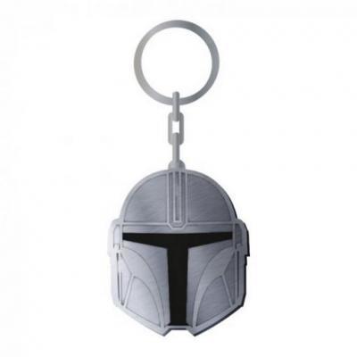Star wars mandalorian porte cles metal