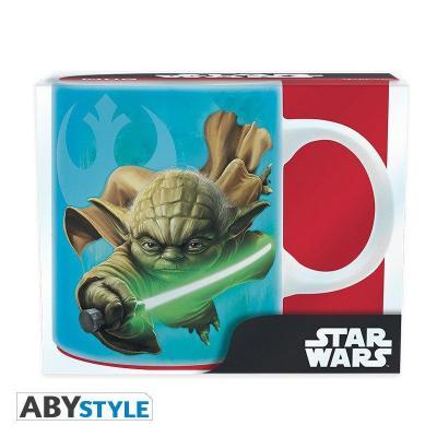 Star wars mug 320 ml yoda r2d2