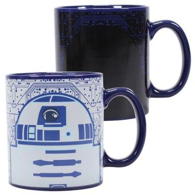 Star wars mug thermoreactif r2d2