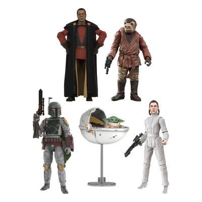 Star wars pack de figurines wave 3 black series 10cm assort 8 pcs