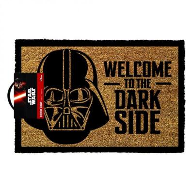 Star wars paillasson 40x60 welcome to the darkside