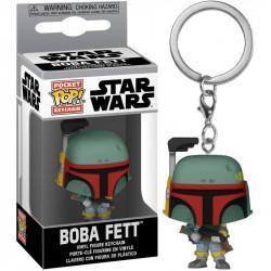 Star wars pocket pop keychains boba fett 4cm