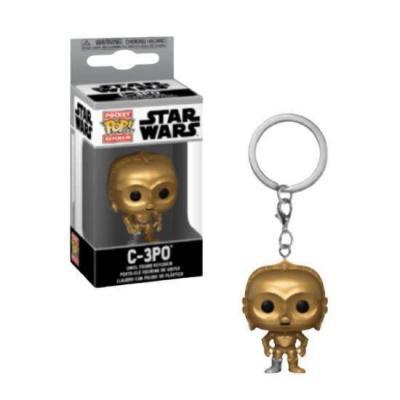 Star wars pocket pop keychains c 3po 4cm