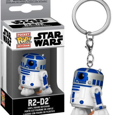 Star wars pocket pop keychains r2 d2 4cm