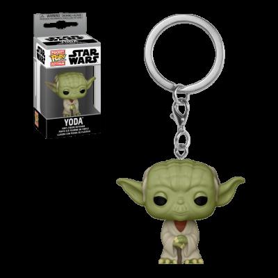 Star wars pocket pop keychains yoda 4cm