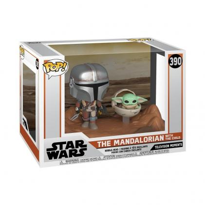 Star wars pop moments n 390 mandalorian the child