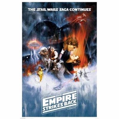 Star wars poster 61x91 the empire strikes back