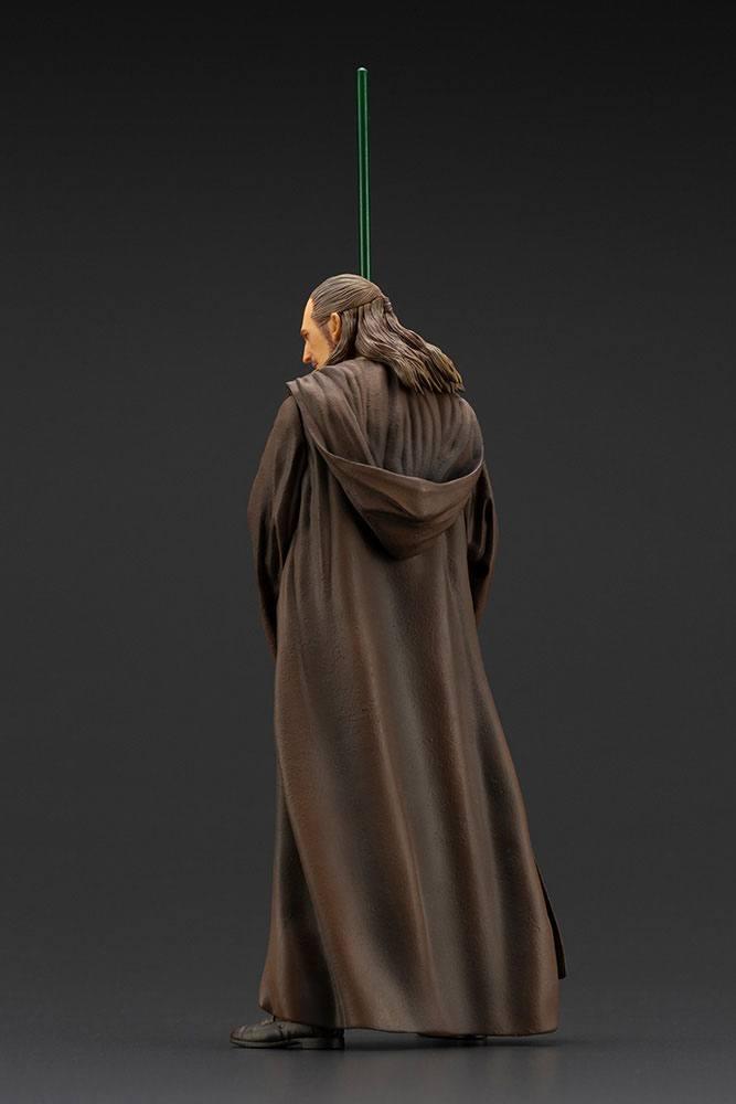 Star wars qui gon jinn statuette pvc artfx 19cm 1