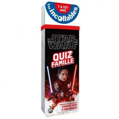 Star wars quiz famille les incollables