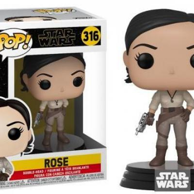 Star wars rise of skywalker bobble head pop n 316 rose