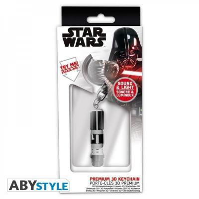 Star wars sabre laser de vador porte cles premium