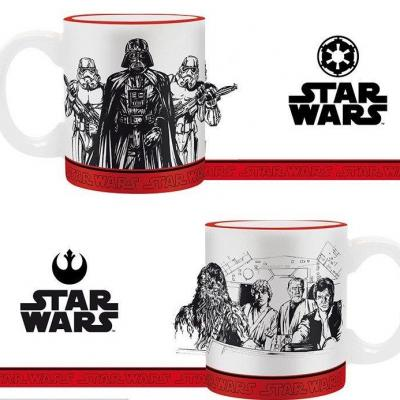 Star wars set 2 mini mugs empire vs rebel