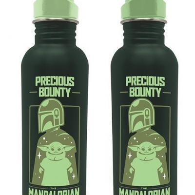 Star wars the child precious bounty bouteille en metal 540ml