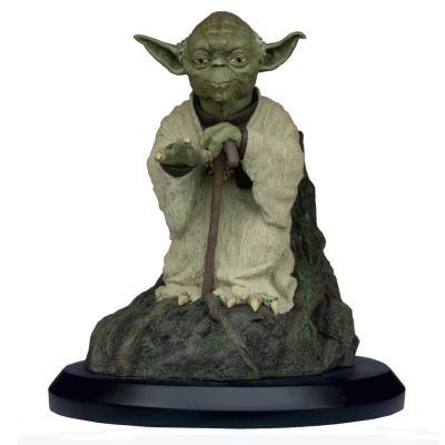 Star wars yoda on dagobah statuette 17cm limited edition 999 ex