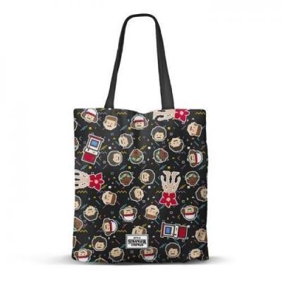 Stranger things 8 bits shopping bag 40x34x1cm