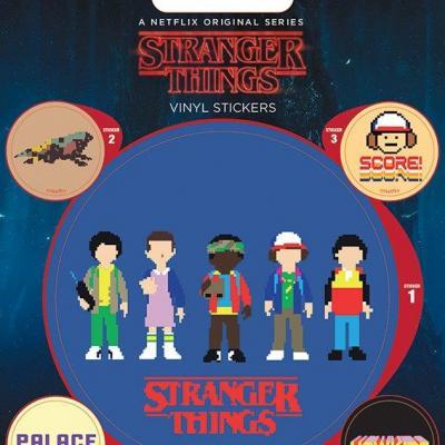 Stranger things arade stickers en vinyle
