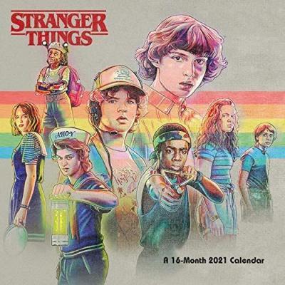 Stranger things calendrier 2021 30x30cm