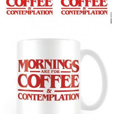 Stranger things coffee contemplation mug 315ml