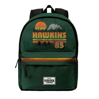 Stranger things hawkins 85 sac a dos 45x30x18cm