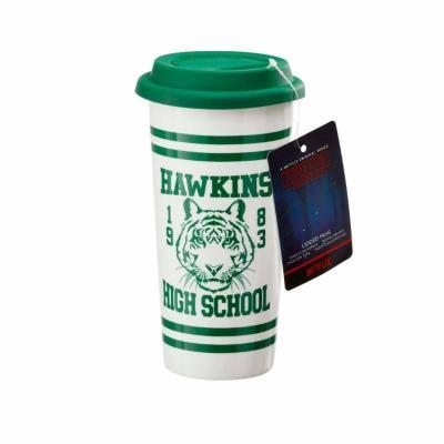 Stranger things hawkins high school mug de voyage 400ml