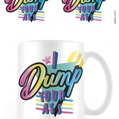 Stranger things i dump your ass mug 315ml